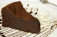 Jednostavna čokoladna torta bez brašna